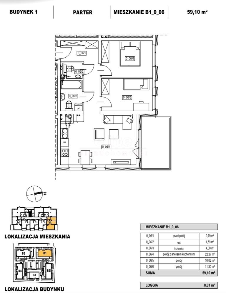 Mieszkania na sprzedaż ŻELECHOWA SZCZECIN